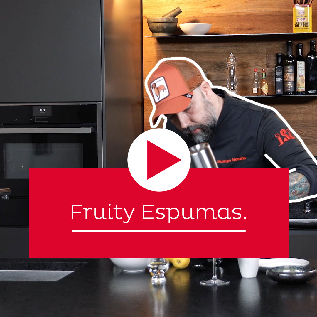 Quick & easy: fruity espumas
