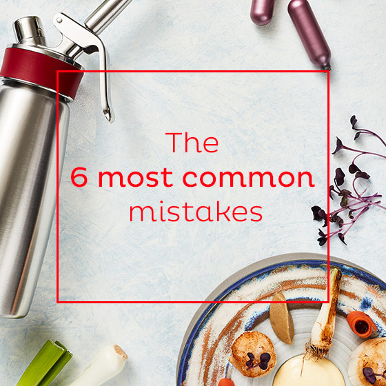 The 6 most common mistakes