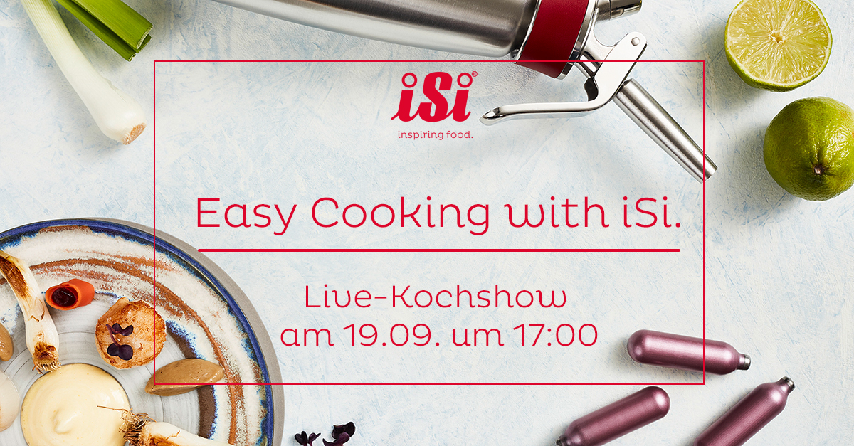 Easy Cooking with iSi
