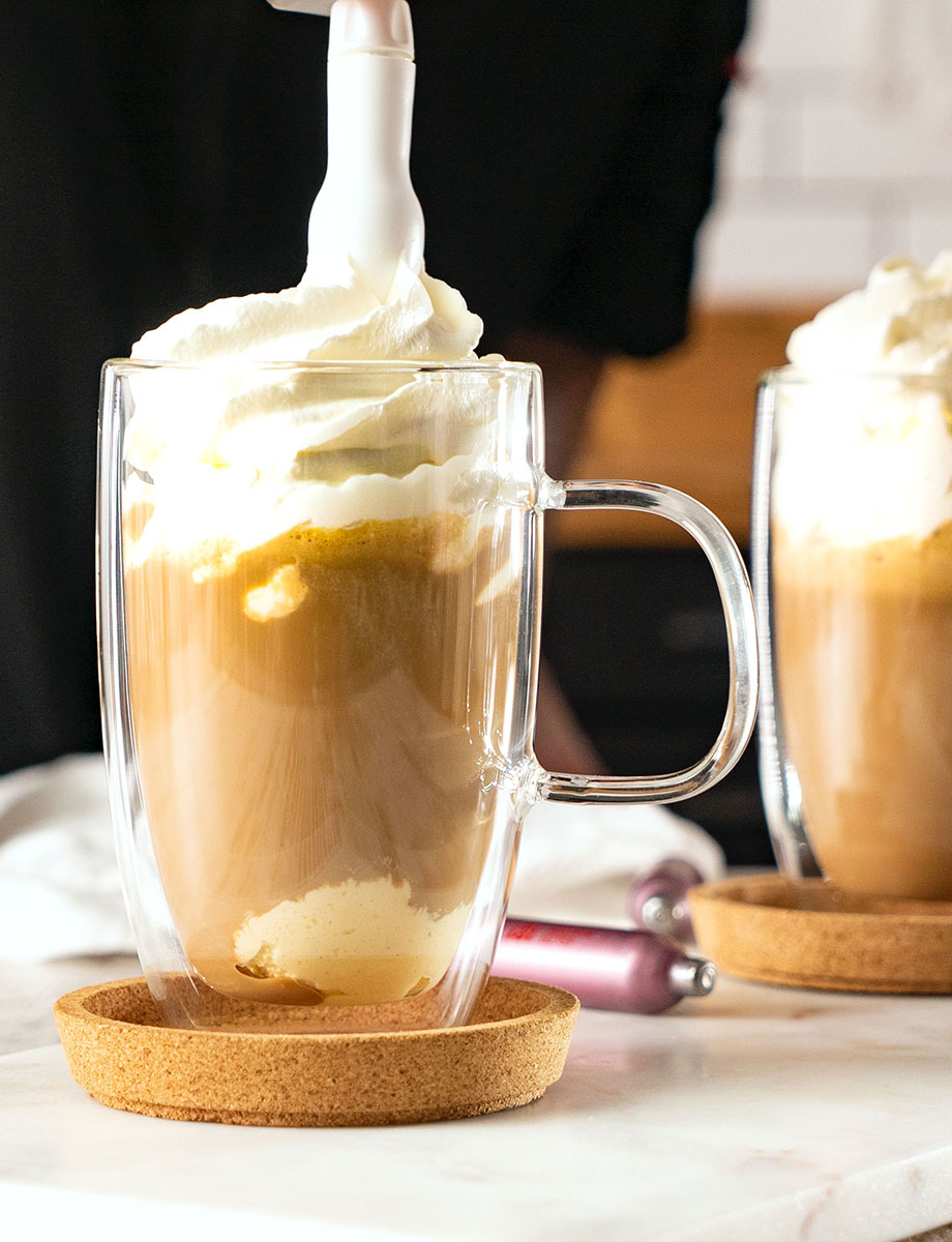 Amaretto-Eiskaffee
