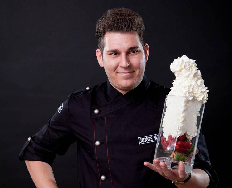 Featured: chef patissier Marco D'Andrea