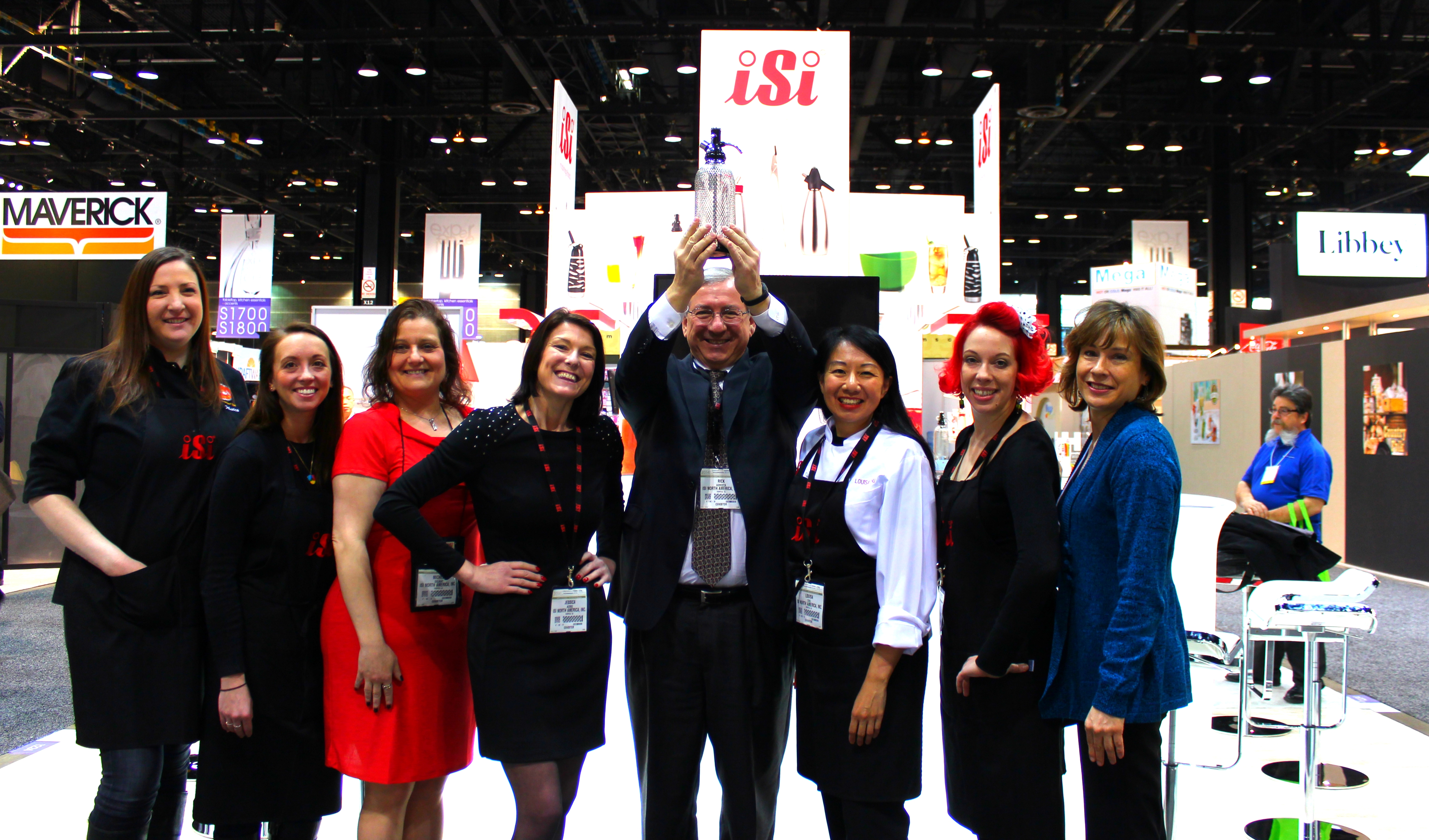 iSi celebrates 50 years of inspiration with new product introductions at the 2014 International Housewares Show in Chicago