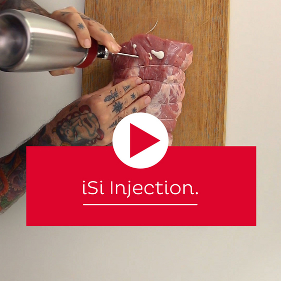 Science of Cooking: iSi Injection