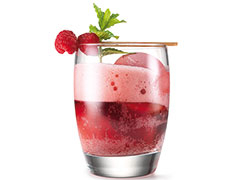 Raspberry and Herb Drink