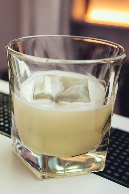 Clarified Oreo Milk Punch