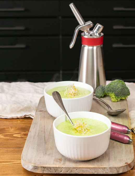 Broccoli Foam Soup