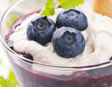 Blueberry Yogurt Tiramisù