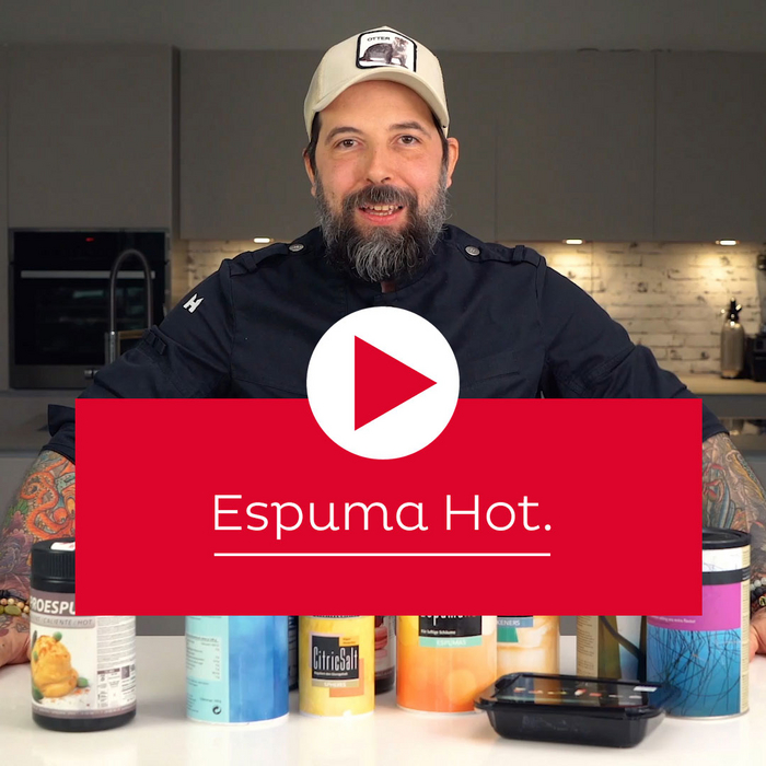 How to use Espuma Hot