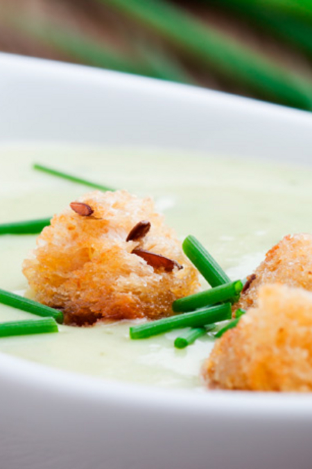 Courgette Foam Soup