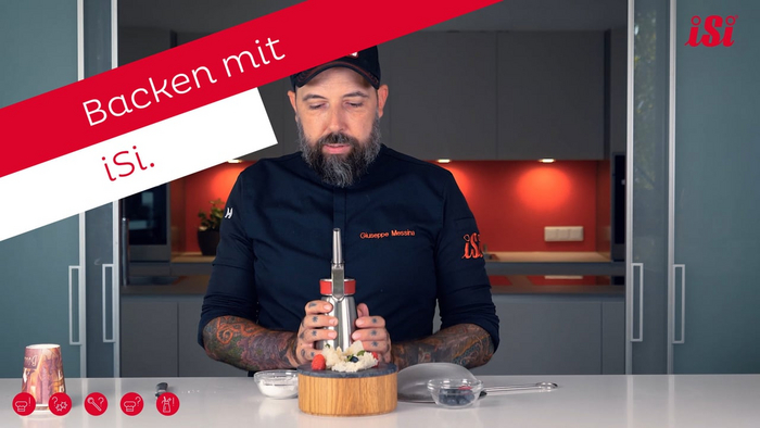 Science of Cooking: Backen mit iSi