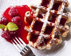 Airy Light Waffles