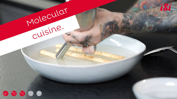 Molecular Cuisine with the iSi System