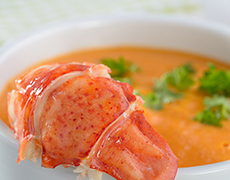 Lobster Foam Soup