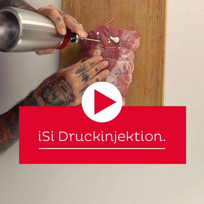 Science of Cooking: Druckinjektion