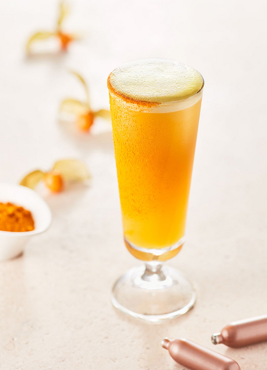 Cocktail Nitro Turmeric Tea