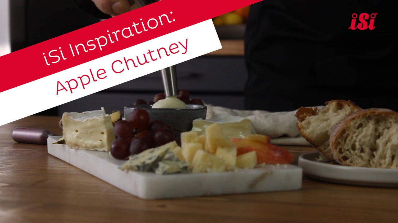 iSi Recipe: Apple Chutney